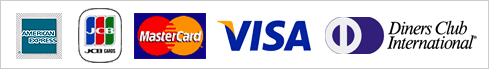 AMERICAN EXPRESS|JCB|Master Card|VISA|DINERS